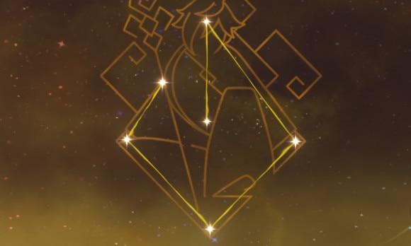 鍾離星の星座