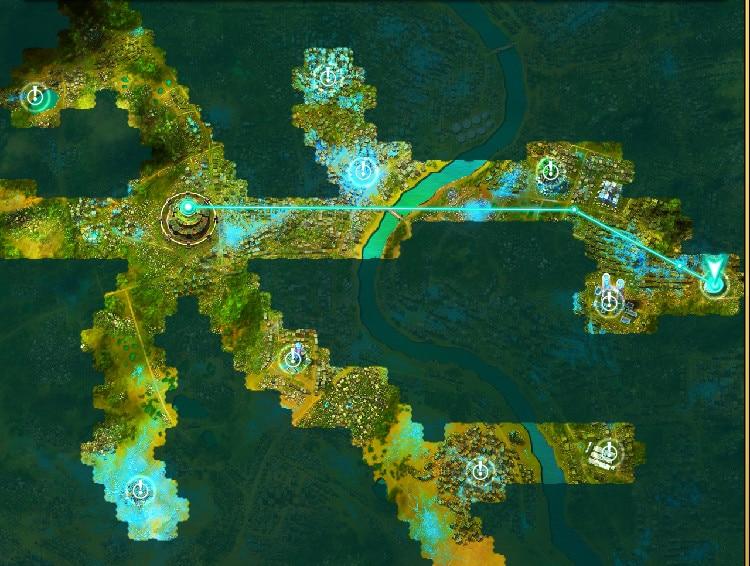 リュミエール地図