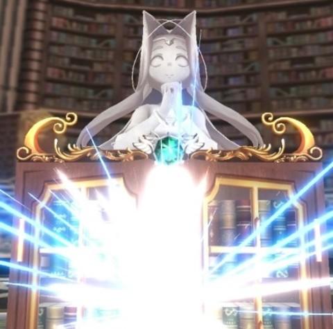 女神像の手 お祈り