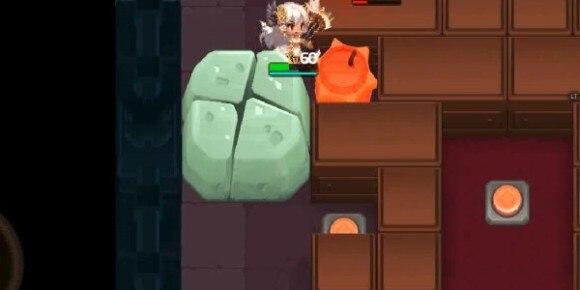 協力戦爆薬で岩を壊す