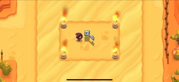 火鉢に火をつける