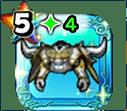 メタルキングの鎧上