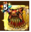 焔龍神の鎧上