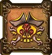 キャプテン・クロウの紋章