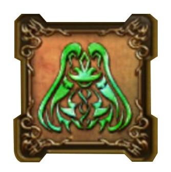 風の精霊の紋章