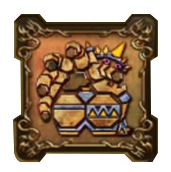 大地の魔人の紋章