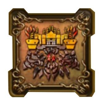 鬼岩城の紋章