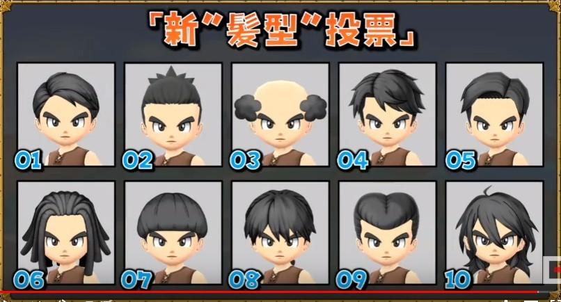 投票髪型:男性
