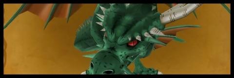 深緑の巨竜