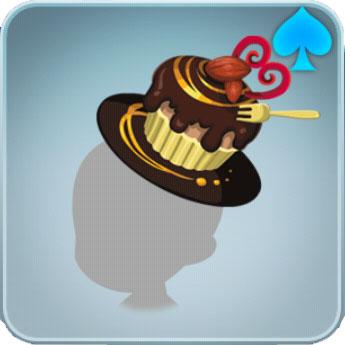 チョコケーキハット