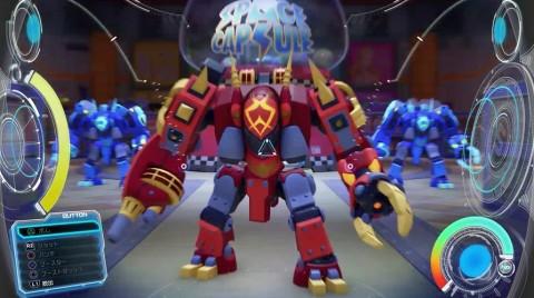 ロボットに乗って戦闘