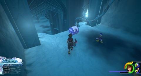 氷の迷宮の地図