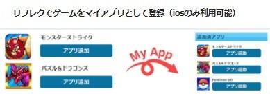 アプリ追加