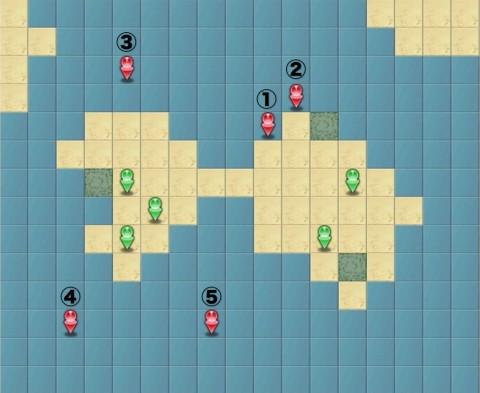 サマフェス火曜日MAP