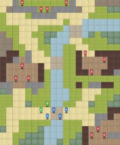 闇の領域のマップ