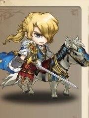 蒼の騎士_ミニキャラ