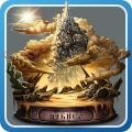 蜃気楼の砂塔
