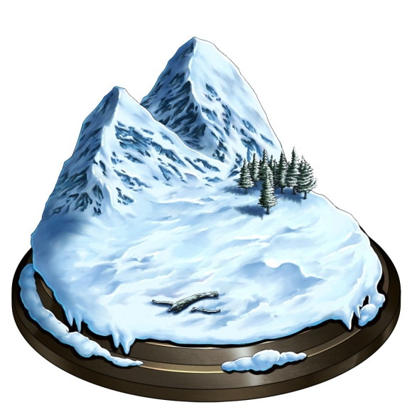 ランゼリア雪原