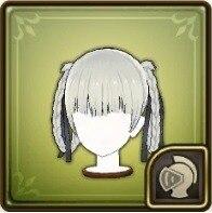 桃喰綺羅莉(髪型)