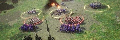 ストラテジー要素の軍団戦