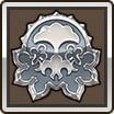 銀のアニマルエンブレム