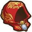 獅子紋のローブ