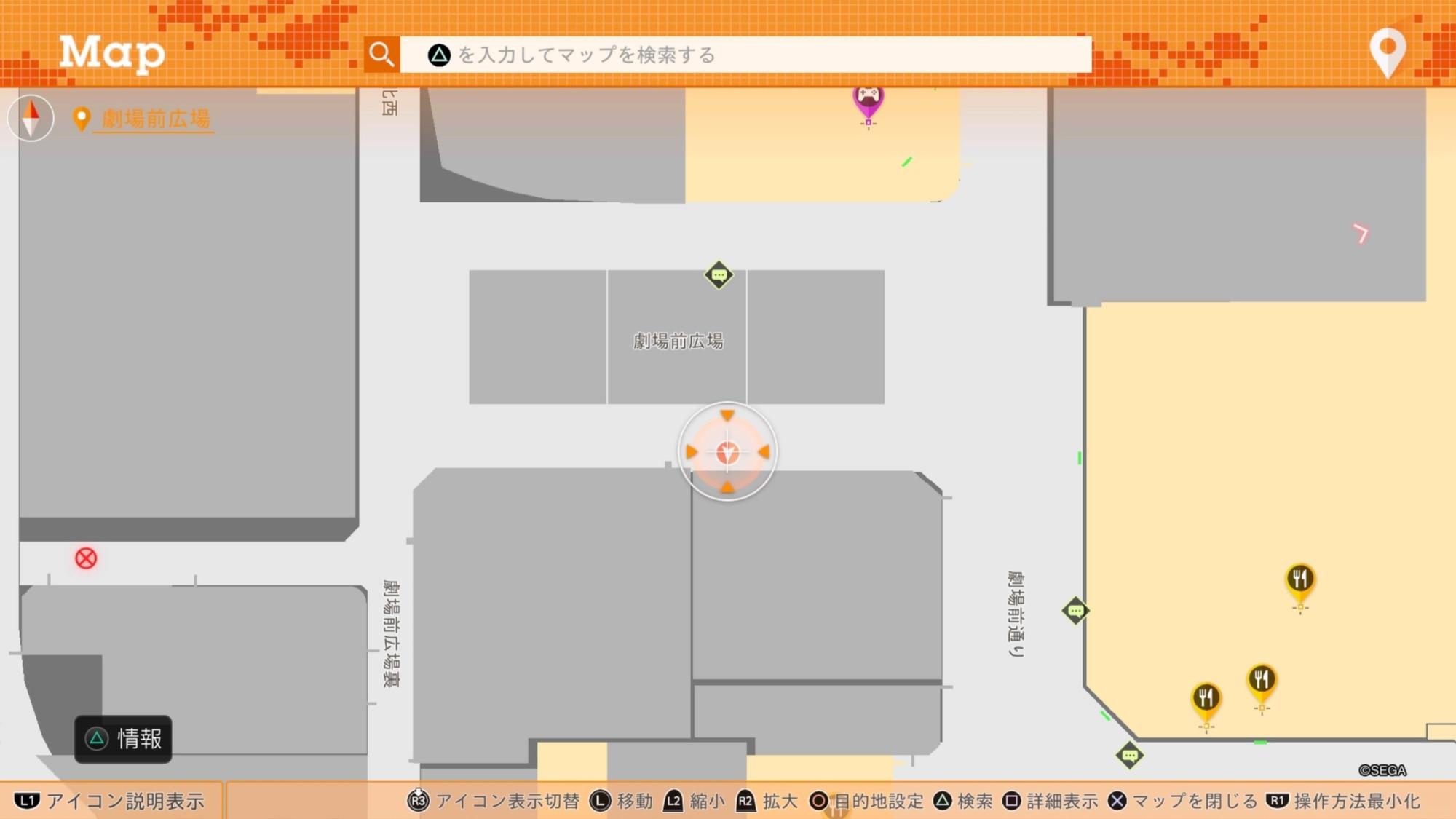 迷子マップ