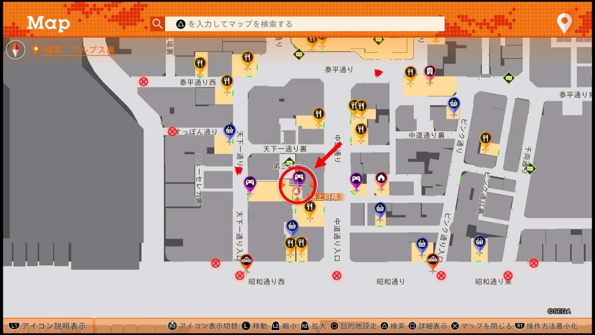 金花薬局の場所とマップ