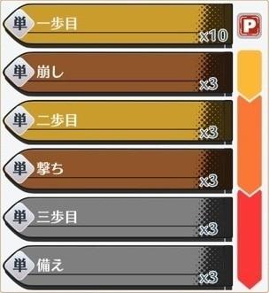 四天王奥義「三歩必殺」