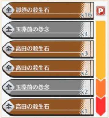 「那須と三高田の殺生石」