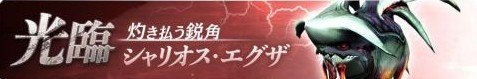シャリオスエグザ攻略【光臨周回】