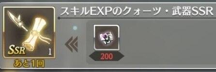 スキルEXP
