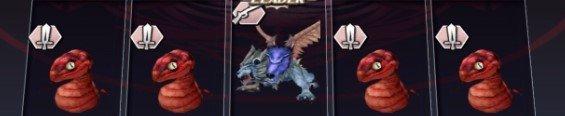 1-3魔窟ツィールのボス「村喰らいの双貌獣」