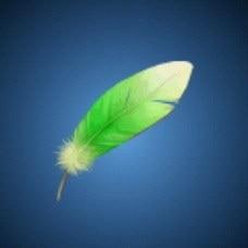 スモッグの羽根
