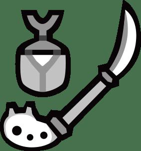 狼牙棍【亡獄】の生産・強化素材と派生方法