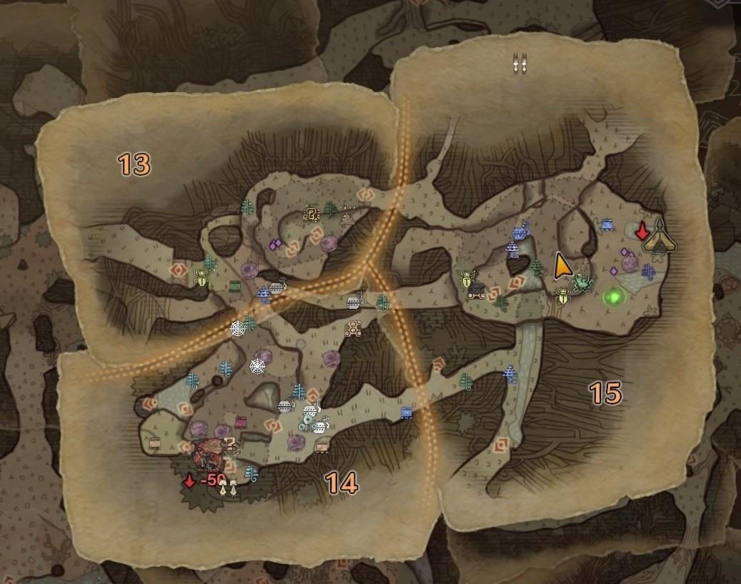 古代竜人 エリア15