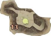 大蟻塚の荒地エリア13