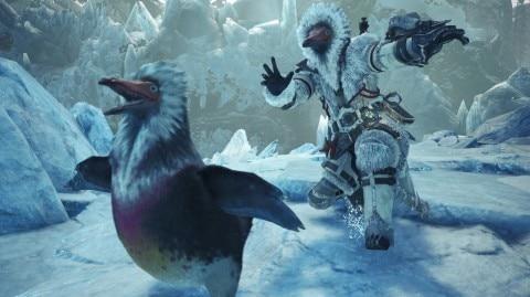 キブクレペンギンつかまえた!