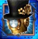 蒸鉄卿の帽子・銃装