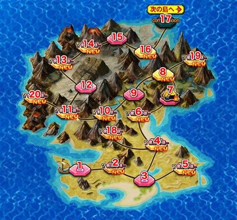 ガガテト島 全体図