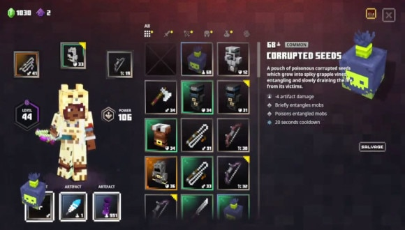 Jungle Awakens新装備