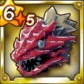 竜鱗鎧レッドサウロス/頭