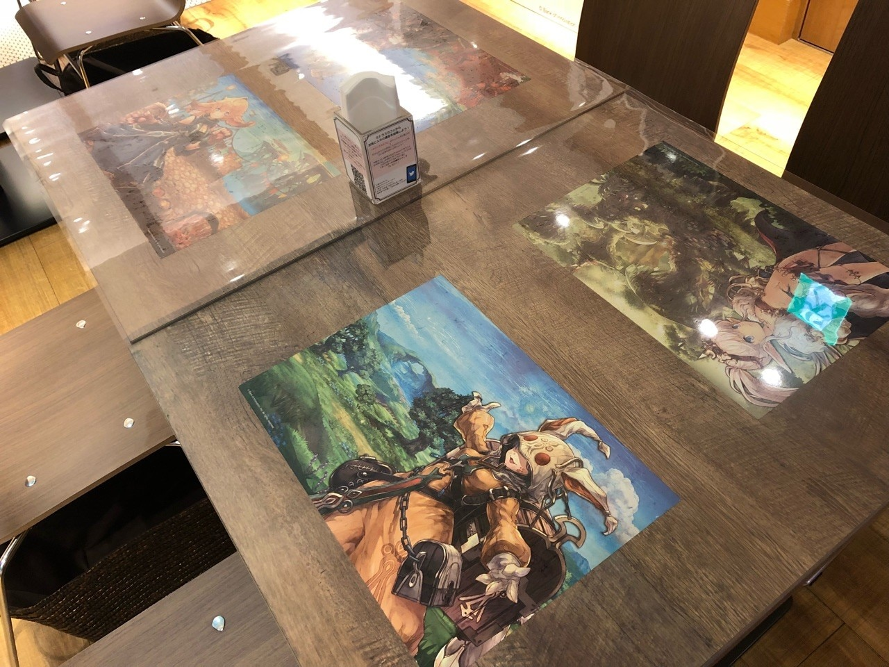 イラストテーブル