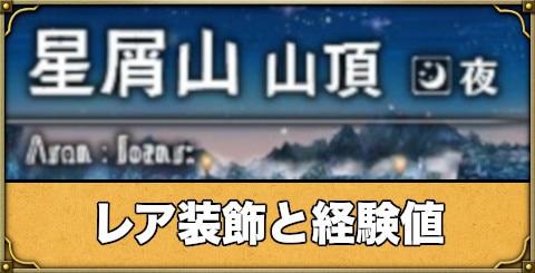 星屑山山頂(夜)