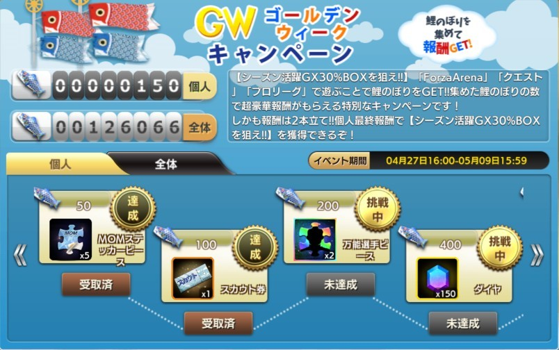 GWキャンペーン 画像