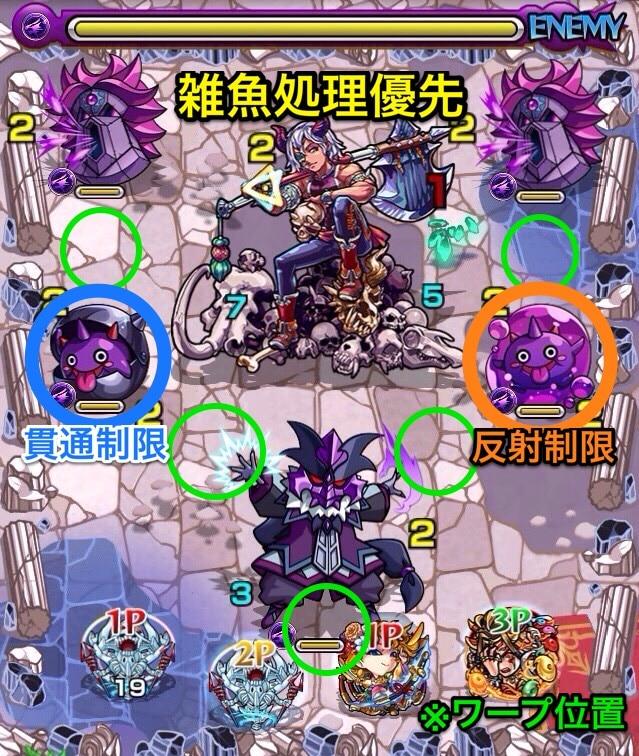牛魔王(究極)第1ステージ