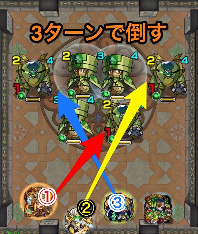 覇者の塔28階第1ステージ