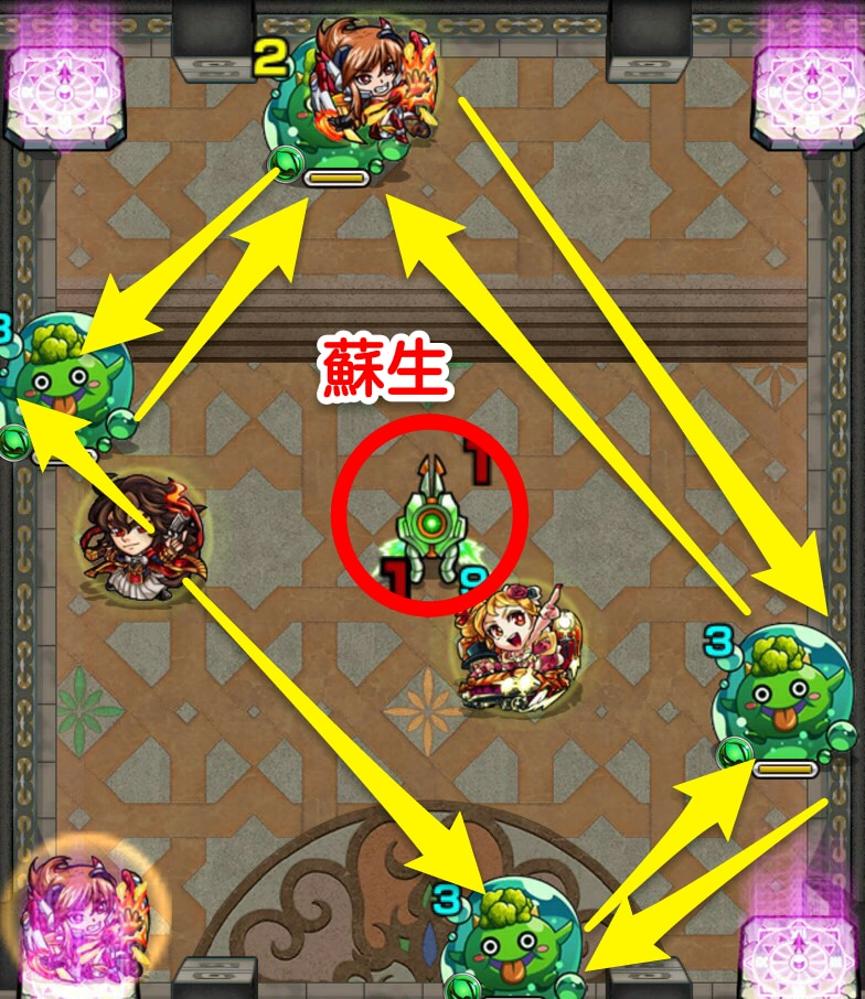 覇者の塔33階ステージ3