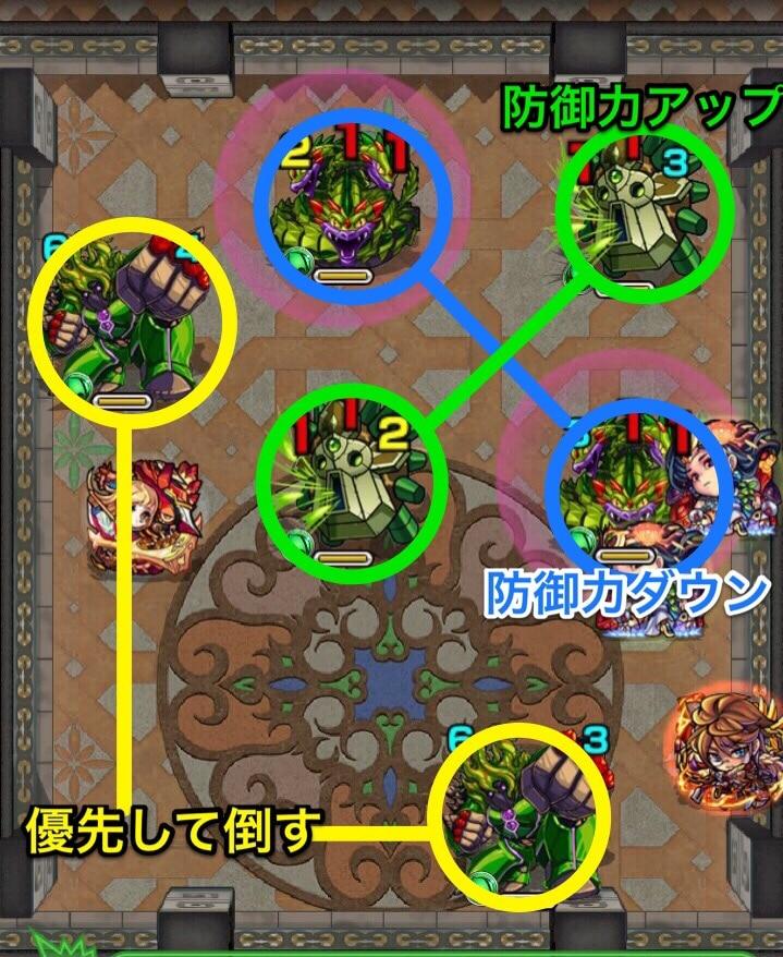 覇者の塔37階ステージ2