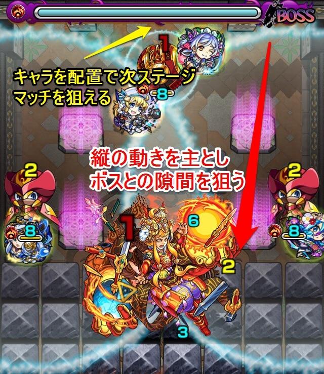 覇者の塔31階ステージ6
